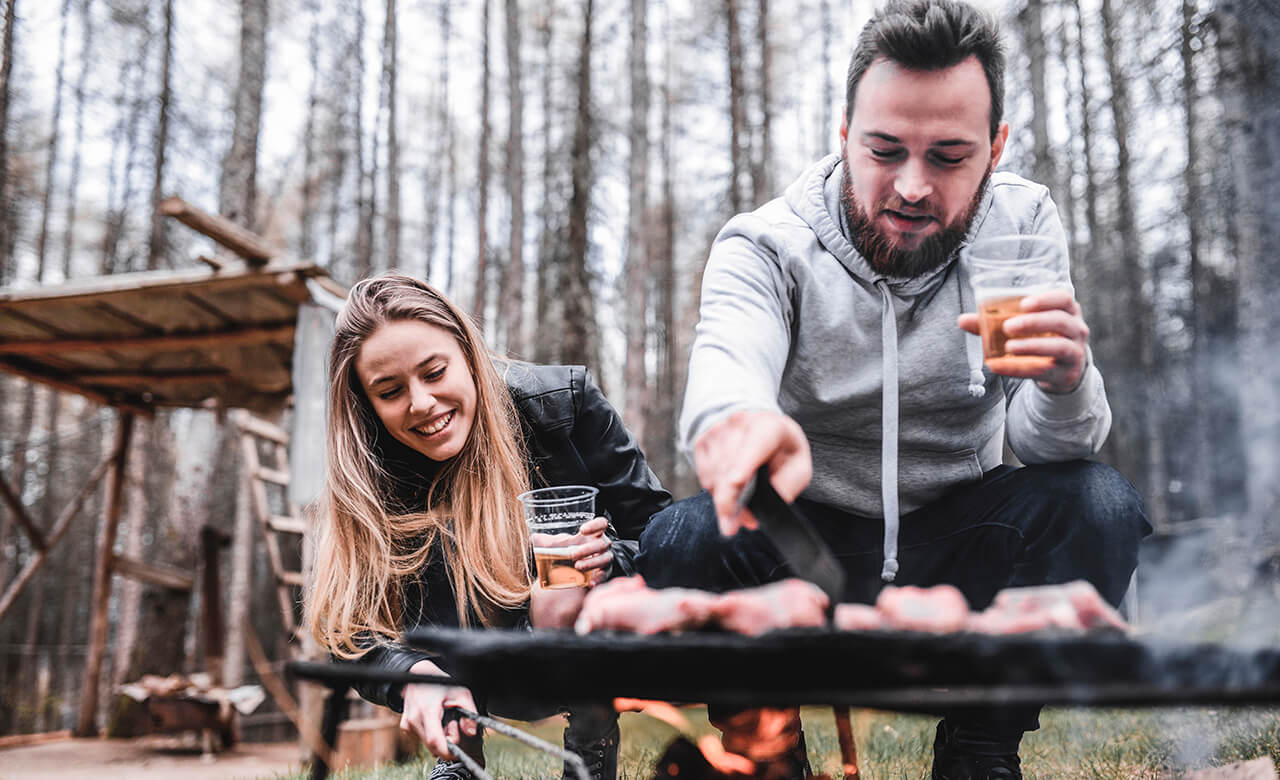 How to Cook Thanksgiving Dinner While Camping