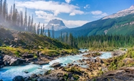 RV Camping at Canada's Yoho National Park