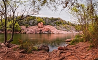 RV Camping Near Inks Lake State Park